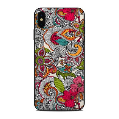 Apple iPhone Xs Max Skin - Doodles Color