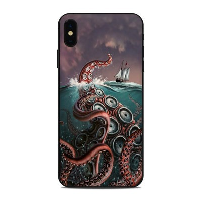 Apple iPhone Xs Max Skin - Kraken