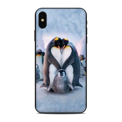 Apple iPhone Xs Max Skin - Penguin Heart