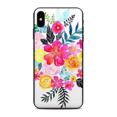 Apple iPhone Xs Max Skin - Pink Bouquet