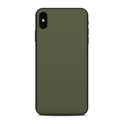 Apple iPhone Xs Max Skin - Solid State Olive Drab