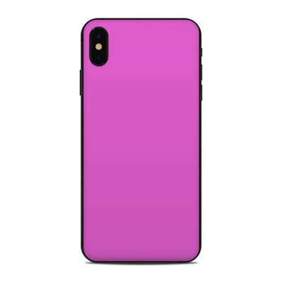 Apple iPhone Xs Max Skin - Solid State Vibrant Pink