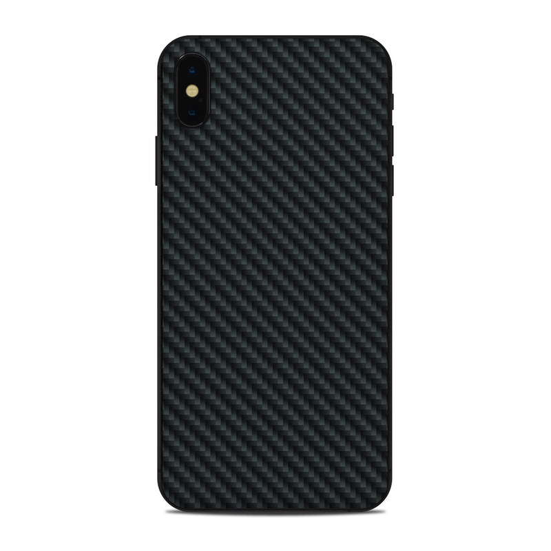 best service 27eb0 cccc1 Apple iPhone Xs Max Skin - Carbon by DecalGirl Collective