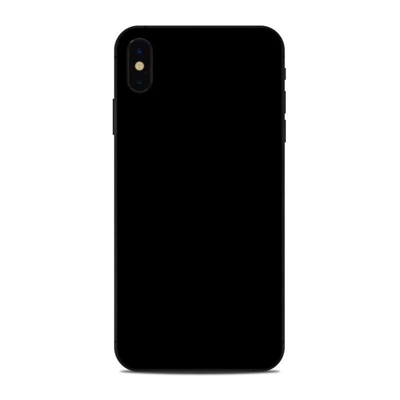 best sneakers 6d282 35367 Apple iPhone Xs Max Skin - Solid State Black