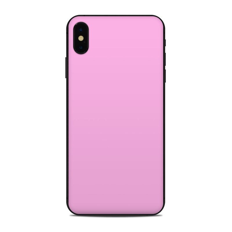 buy popular 77ded 96392 Apple iPhone Xs Max Skin - Solid State Pink
