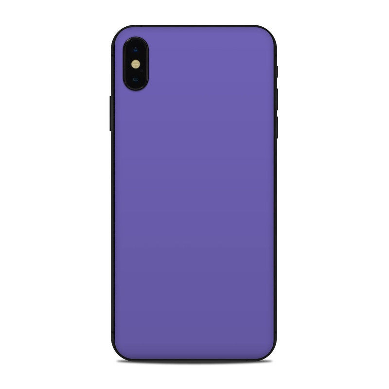 check out 68021 02631 Apple iPhone Xs Max Skin - Solid State Purple