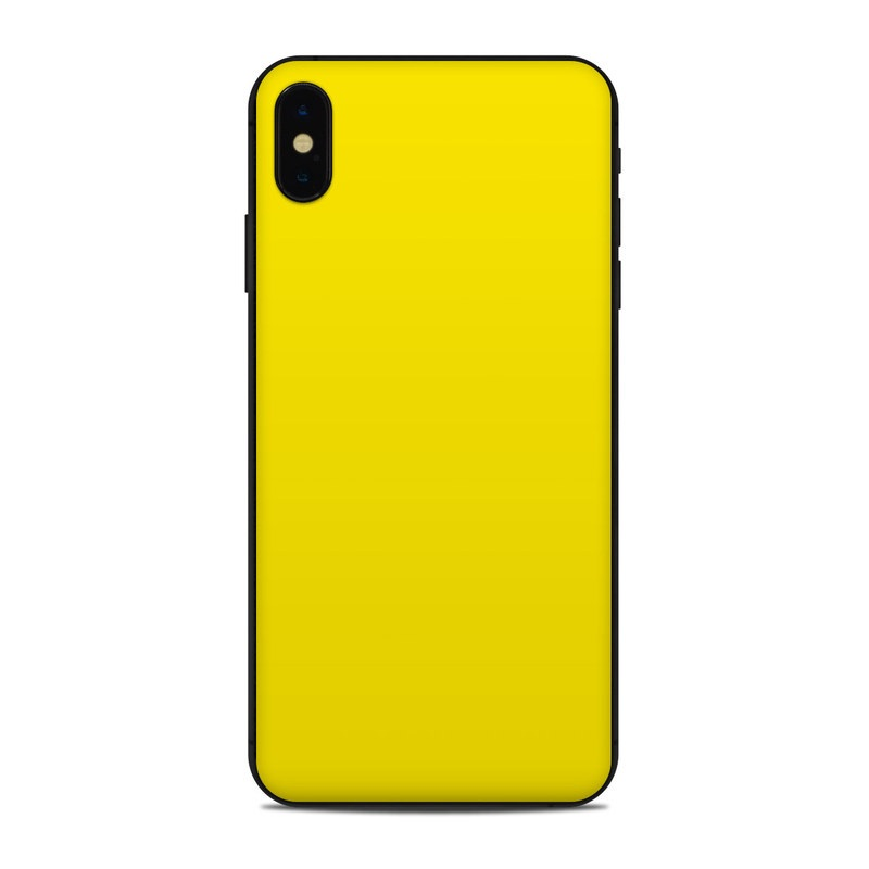 iphone xs max case yellow