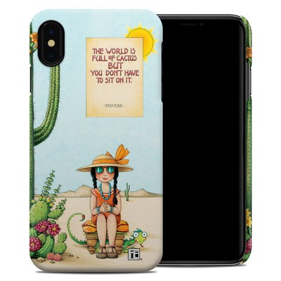Apple iPhone XS Max Clip Case - Cactus