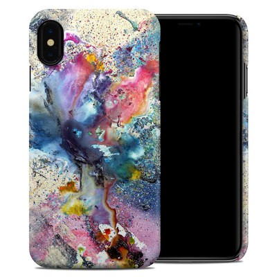 Apple iPhone XS Max Clip Case - Cosmic Flower
