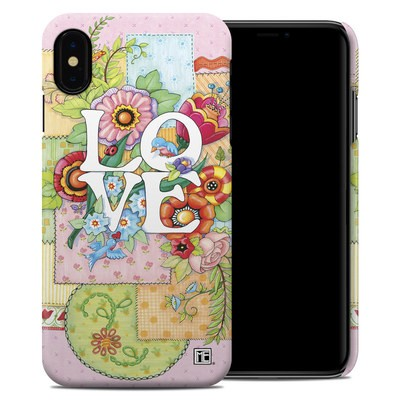 Apple iPhone XS Max Clip Case - Love And Stitches