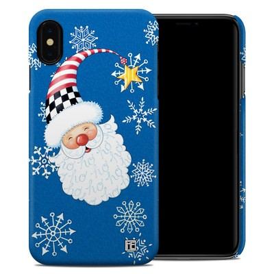 Apple iPhone XS Max Clip Case - Santa Snowflake