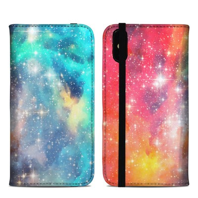 Apple iPhone XS Max Folio Case - Galactic
