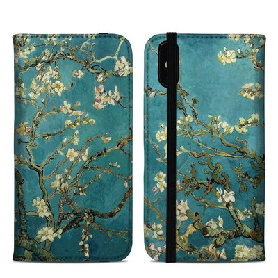 Apple iPhone XS Max Folio Case - Blossoming Almond Tree
