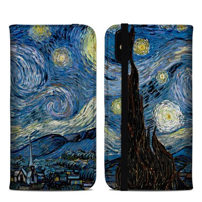 Apple iPhone XS Max Folio Case - Starry Night