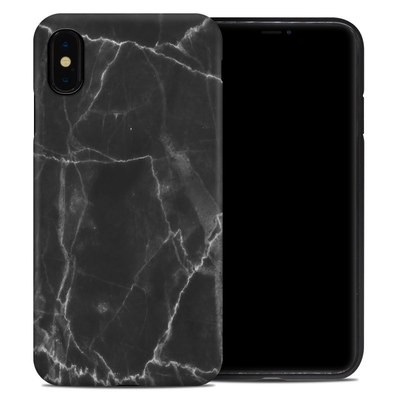 Apple iPhone XS Max Hybrid Case - Black Marble