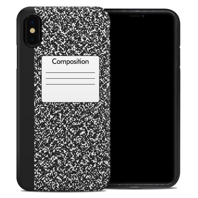 Apple iPhone XS Max Hybrid Case - Composition Notebook