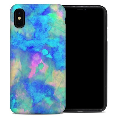 Apple iPhone XS Max Hybrid Case - Electrify Ice Blue
