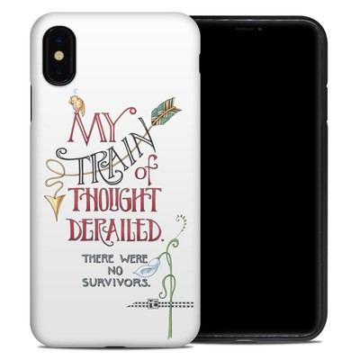 Apple iPhone XS Max Hybrid Case - Train Derailed