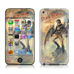 iPod Touch 4G Skin - The Black Baron