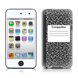 iPod Touch 4G Skin - Composition Notebook