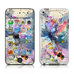 iPod Touch 4G Skin - Cosmic Flower
