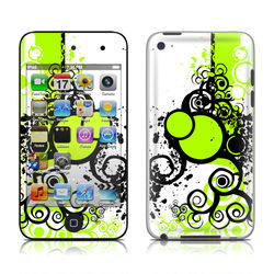 iPod Touch 4G Skin - Simply Green
