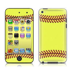 iPod Touch 4G Skin - Softball