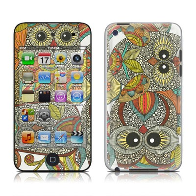 iPod Touch 4G Skin - 4 owls