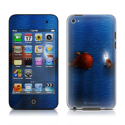iPod Touch 4G Skin - Angler Fish