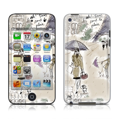 iPod Touch 4G Skin - Ah Paris