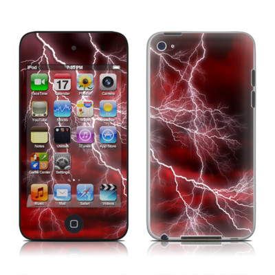 iPod Touch 4G Skin - Apocalypse Red