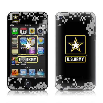 iPod Touch 4G Skin - Army Pride