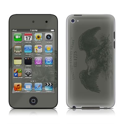 iPod Touch 4G Skin - Army Crest