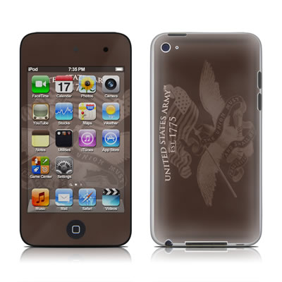 iPod Touch 4G Skin - Army Preserved
