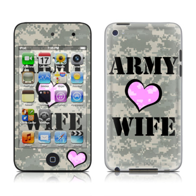 iPod Touch 4G Skin - Army Wife