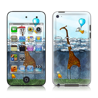 iPod Touch 4G Skin - Above The Clouds