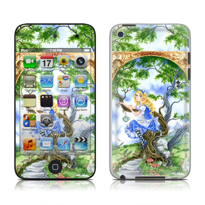 iPod Touch 4G Skin - Alice's Tea Time
