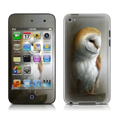 iPod Touch 4G Skin - Barn Owl