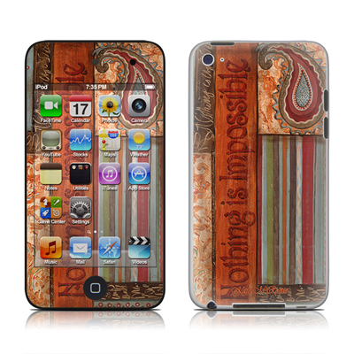 iPod Touch 4G Skin - Be Inspired
