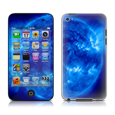 iPod Touch 4G Skin - Blue Giant