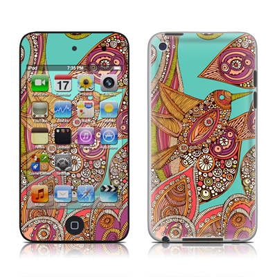 iPod Touch 4G Skin - Bird In Paradise