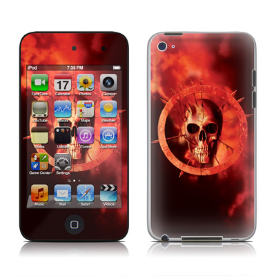 iPod Touch 4G Skin - Blood Ring