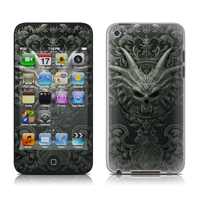 iPod Touch 4G Skin - Black Book