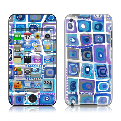 iPod Touch 4G Skin - Blue Monday