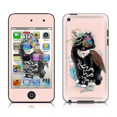 iPod Touch 4G Skin - Black Magic
