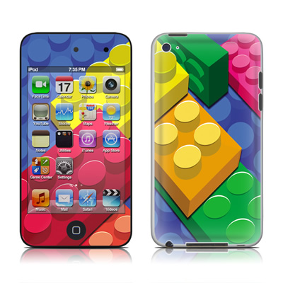 iPod Touch 4G Skin - Bricks