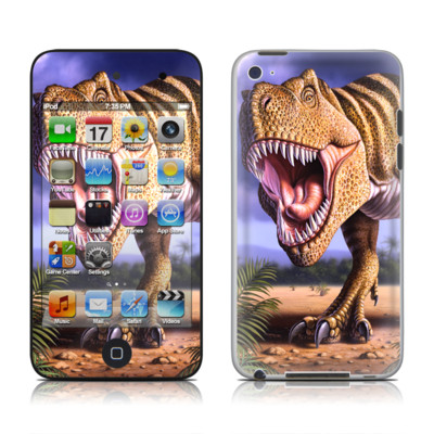 iPod Touch 4G Skin - Brown Rex