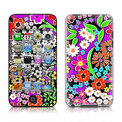 iPod Touch 4G Skin - A Burst of Color