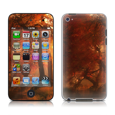 iPod Touch 4G Skin - Canopy Creek Autumn