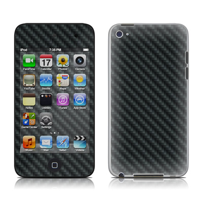 iPod Touch 4G Skin - Carbon
